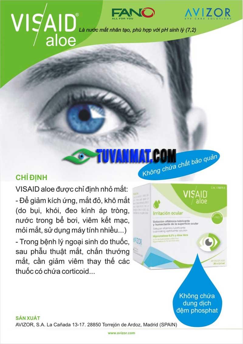 Công dụng thuốc visaid aloe